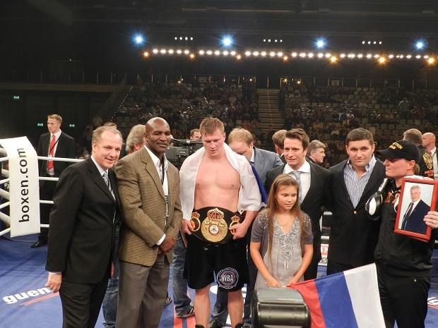 Бокс Эвандер Холифилд в Москве 25 и 26 мая 2014