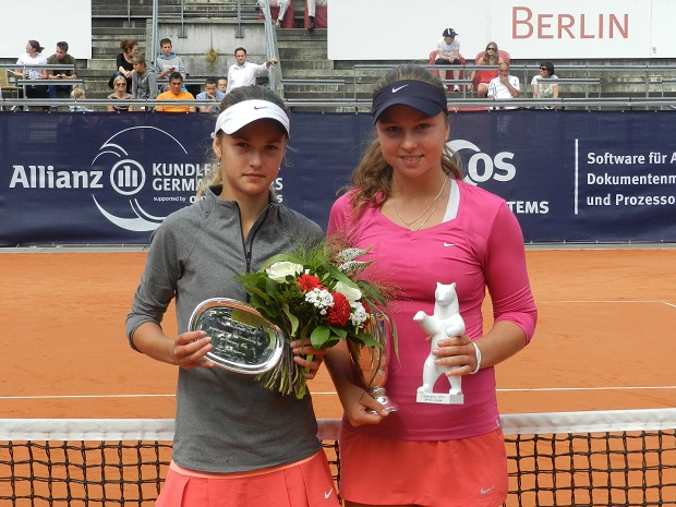 Анастасия Комардина выиграла турнир в Берлине 2014 Фото