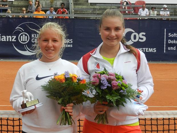 Теннис Мишель Коваленко Финалистка чемпионата Берлина 2014