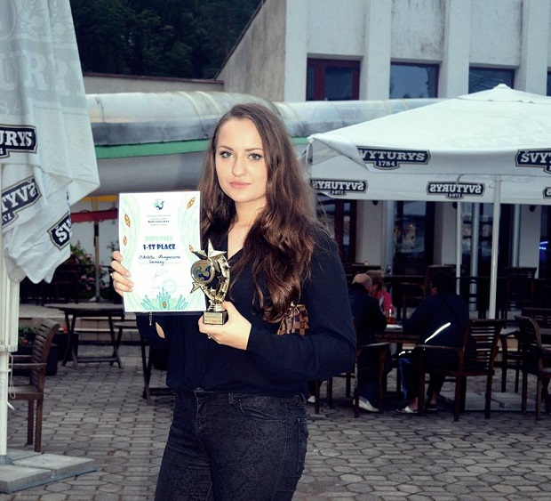 Николетта Кунгурцева победительница Baltic Voice 2014