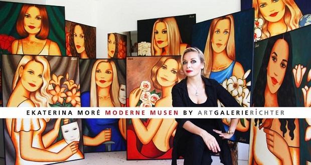 Выставка в Берлине художницы Екатерины Морэ