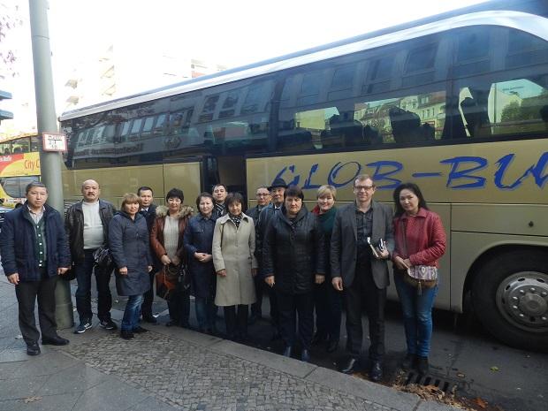 Повышение квалификации Делегация из Казахстана в Германии