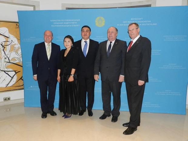 Посольство Казахстана в Берлине Прием 4 декабря Фото