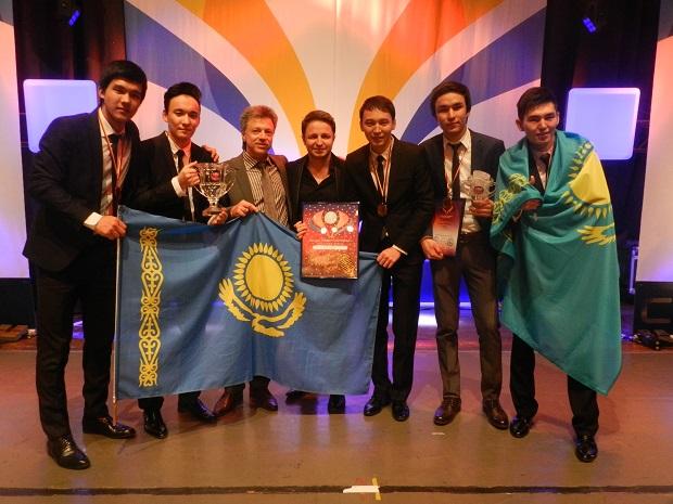 Группа Voice KZ выиграла Grand-Prix Berliner Perle 2014