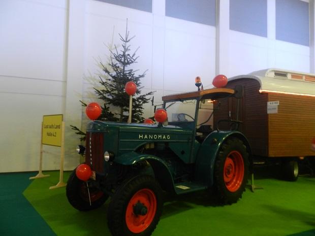 grune woche traktor