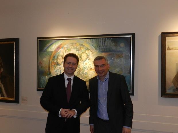 Встреча с депутатом берлинского парламента Маттиасом Браунером