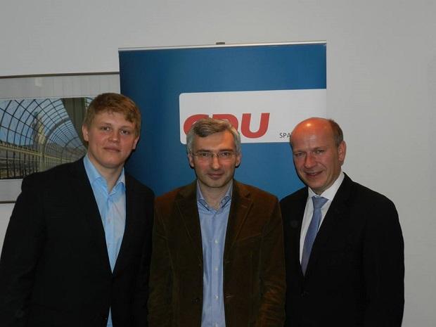 Презентация в Берлине платформы переселенцев партии ХДС