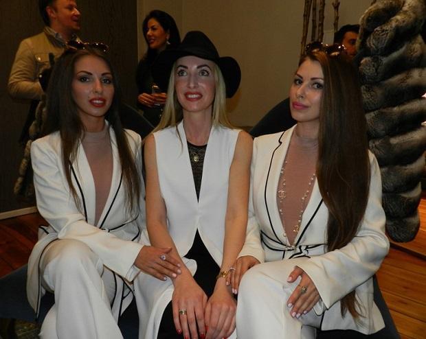 Сестры Литвиновы на открытии бутика Lana Mueller Couture Фото