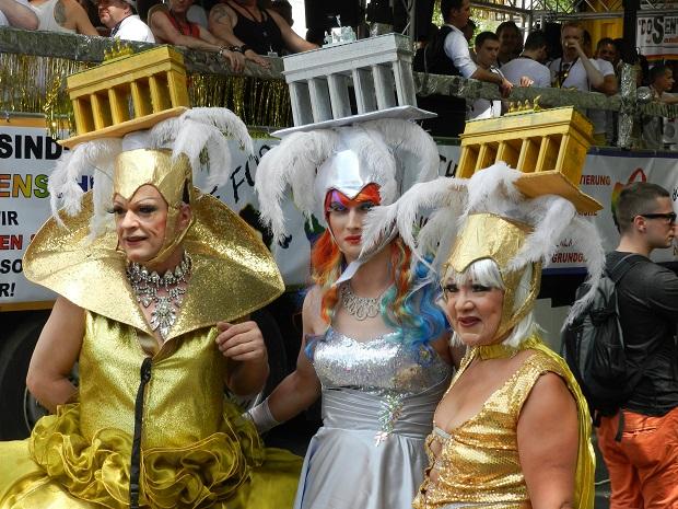 В Берлине на гей параде 24 июля 2021 ожидают около 20 тысяч участников