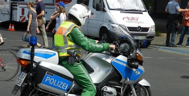 Polizei Roller