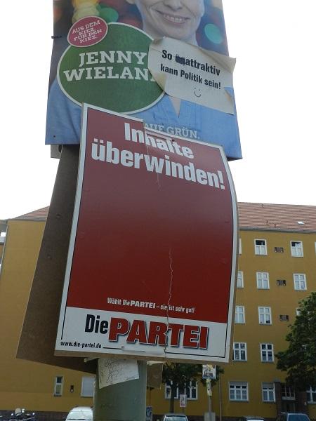 Выборы в Берлине 2016 Самый крутой плакат