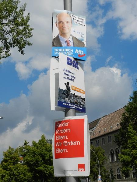 Партия Альтернатива для Германии занимает на востоке страны вторую позицию