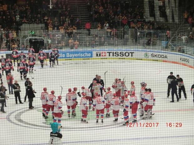 Augsburg hockei rossia team foto