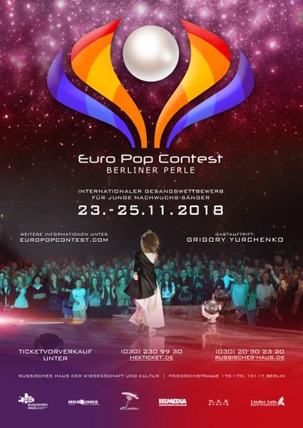 plakat euro pop contest 2018