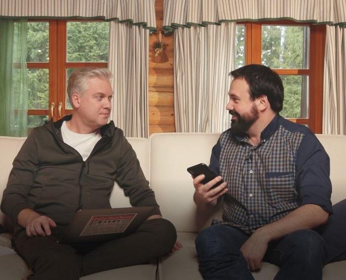Сергей Светлаков представил Светлые новости на СТС