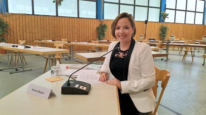 Виктория Бейзер избрана в коммунальный парламент города Гаутинг