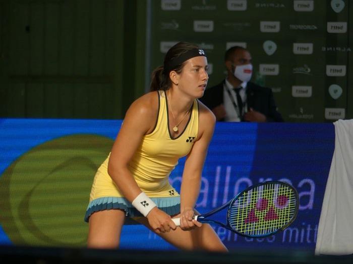 Теннис Анастасия Севастова Видео Интервью о турнире в Берлине 2020