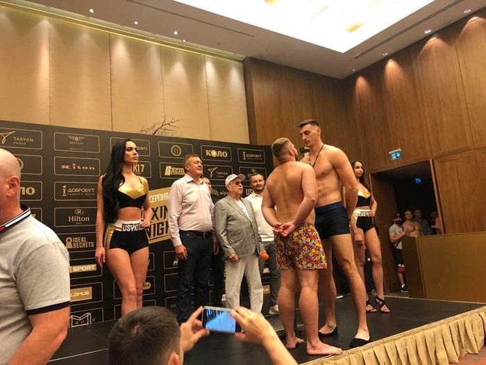Бокс в Киеве 1 августа 2020 Результаты боев