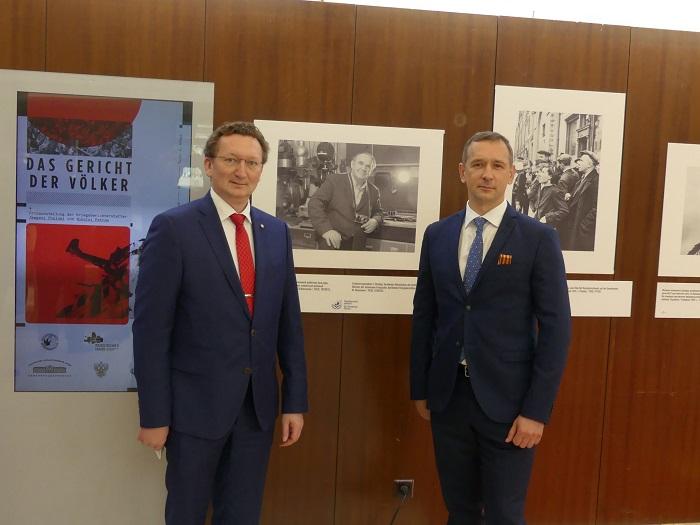В Русском доме в Берлине открылась выставка фотографий Евгения Халдея